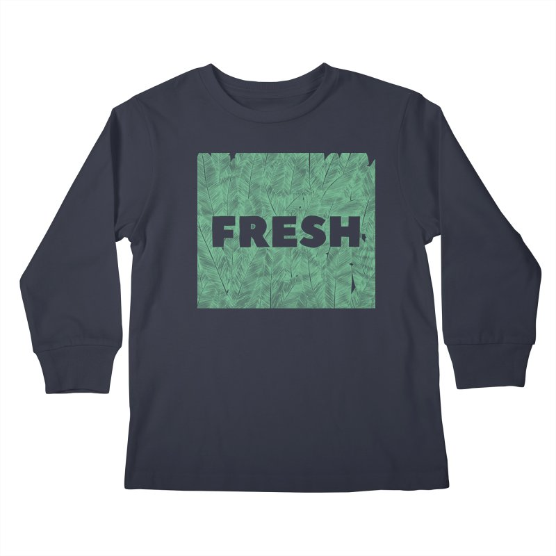 Fresh Kids Longsleeve T-Shirt by RAIDORETTE's Shop