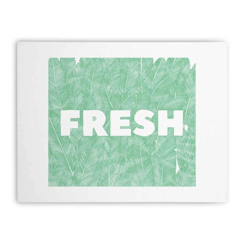 Fresh Home Stretched Canvas by RAIDORETTE's Shop