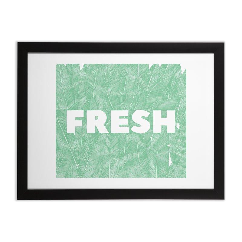 Fresh Home Framed Fine Art Print by RAIDORETTE's Shop