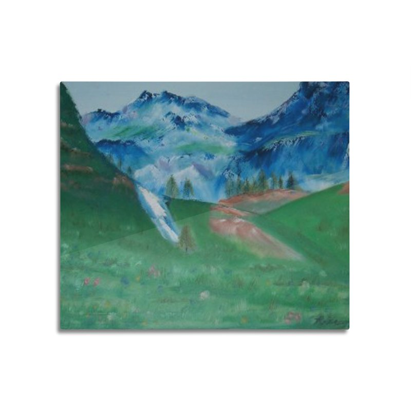 mountains in Mounted Acrylic Print by RLGarts's Artist Shop