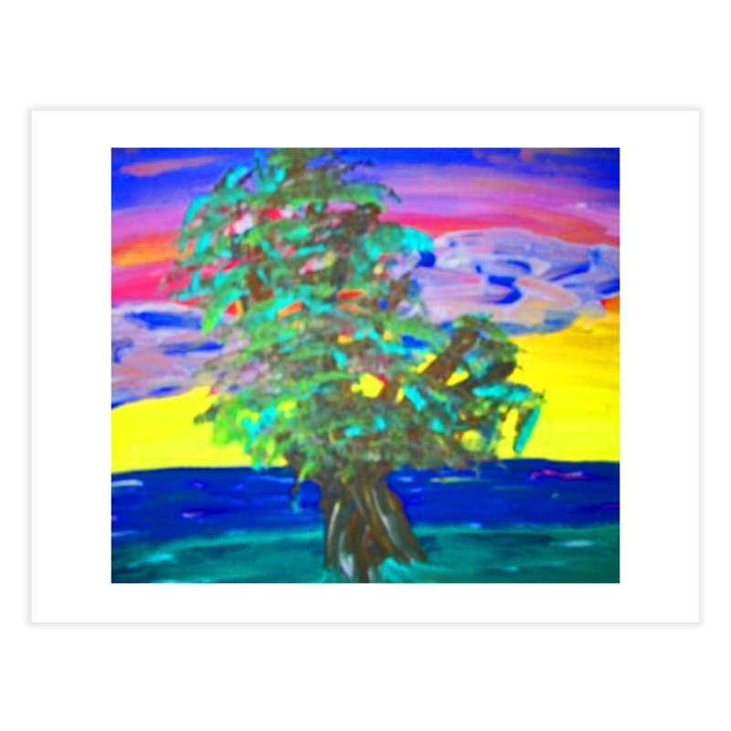 Tree Home Fine Art Print by RLGarts's Artist Shop