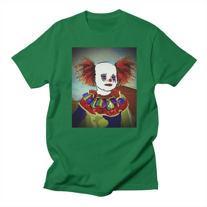 Andrew the Clown Men's Regular T-Shirt by RLGarts's Artist Shop