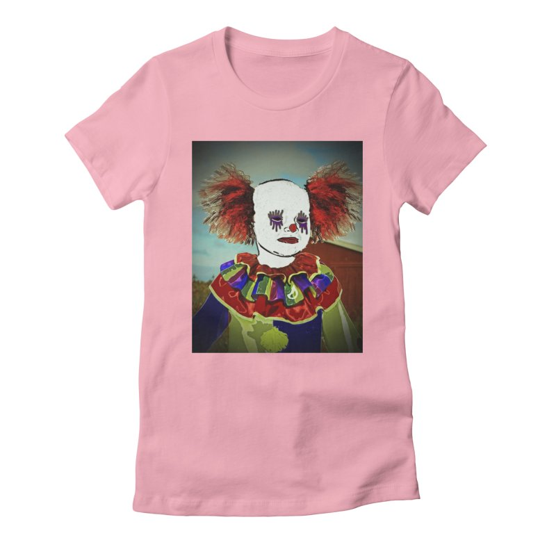 Andrew the Clown Women's Fitted T-Shirt by RLGarts's Artist Shop