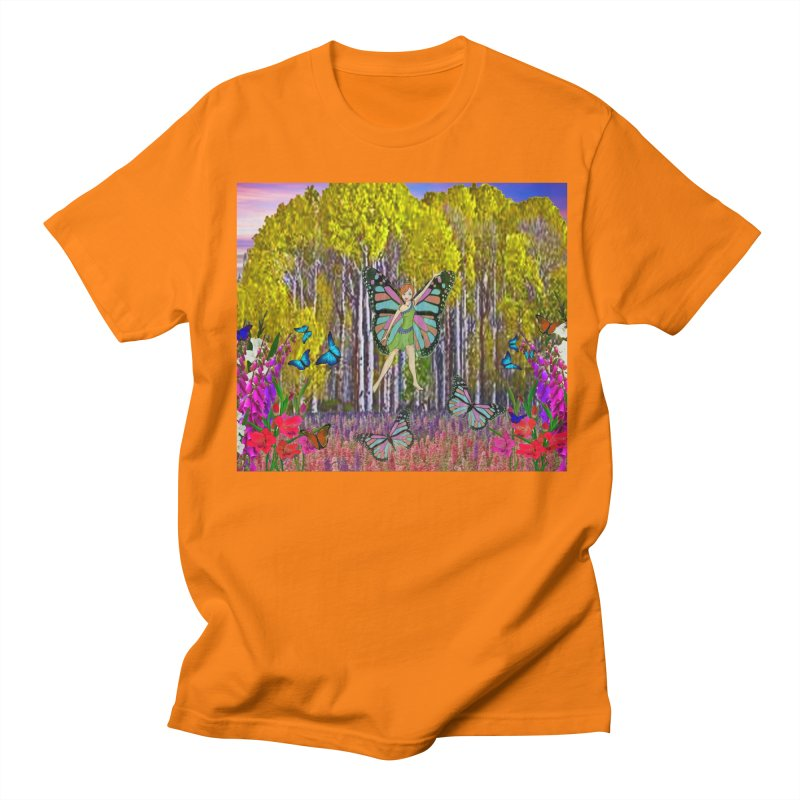 Fairy Men's Regular T-Shirt by RLGarts's Artist Shop