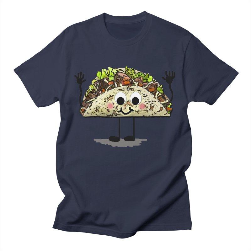Taco Men's Regular T-Shirt by RLGarts's Artist Shop