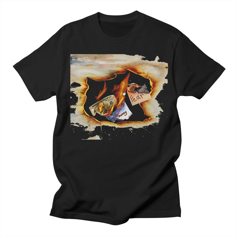 Fire Men's Regular T-Shirt by RLGarts's Artist Shop