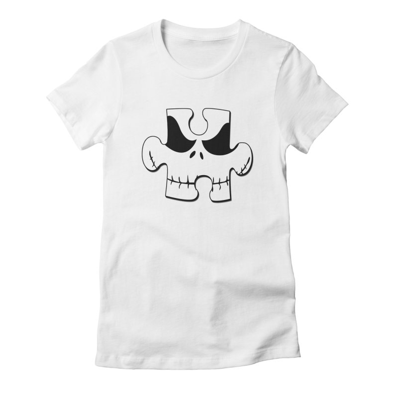Au-some nightmare Women's Fitted T-Shirt by RLGarts's Artist Shop