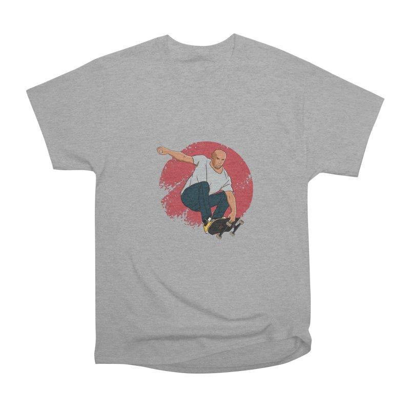 Thanos enjoy his Summer Men's Heavyweight T-Shirt by RLLBCK Clothing Co.