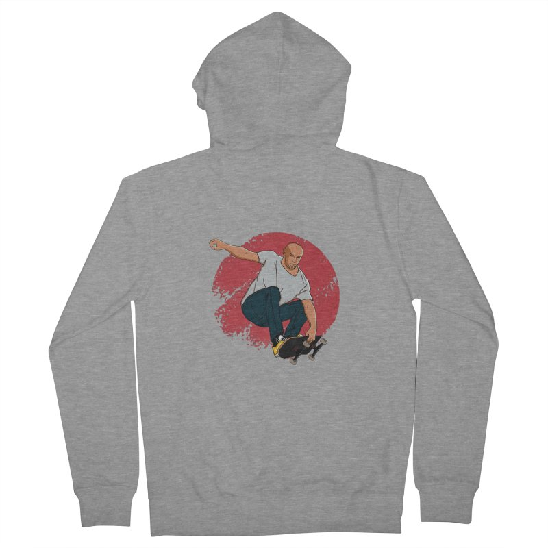 Thanos enjoy his Summer Women's French Terry Zip-Up Hoody by RLLBCK Clothing Co.