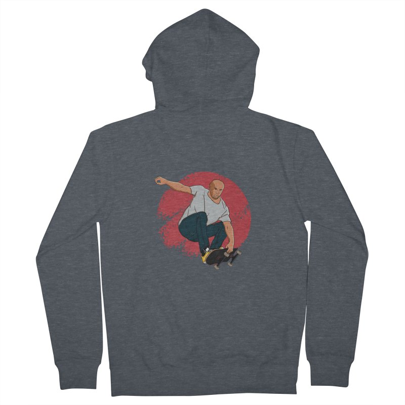 Thanos enjoy his Summer Men's French Terry Zip-Up Hoody by RLLBCK Clothing Co.