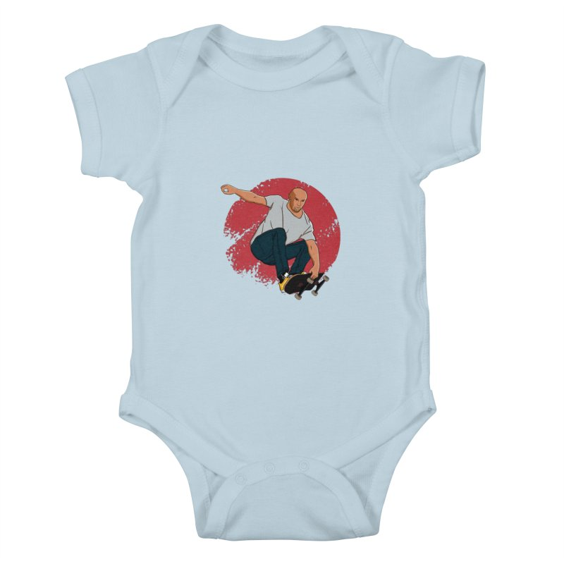 Thanos enjoy his Summer Kids Baby Bodysuit by RLLBCK Clothing Co.
