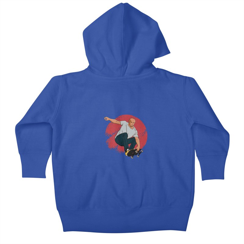 Thanos enjoy his Summer Kids Baby Zip-Up Hoody by RLLBCK Clothing Co.