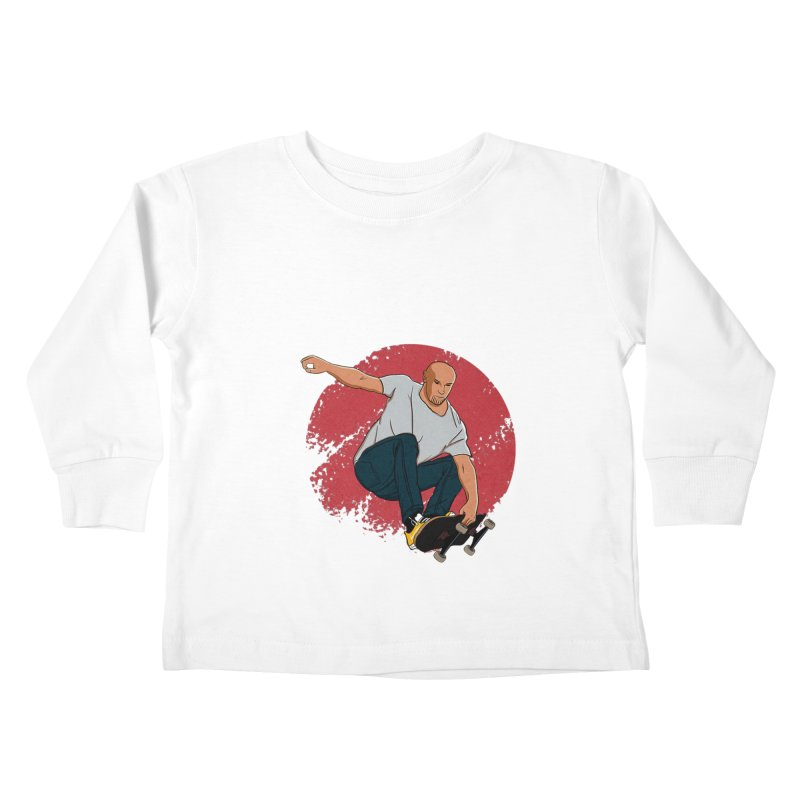 Thanos enjoy his Summer Kids Toddler Longsleeve T-Shirt by RLLBCK Clothing Co.