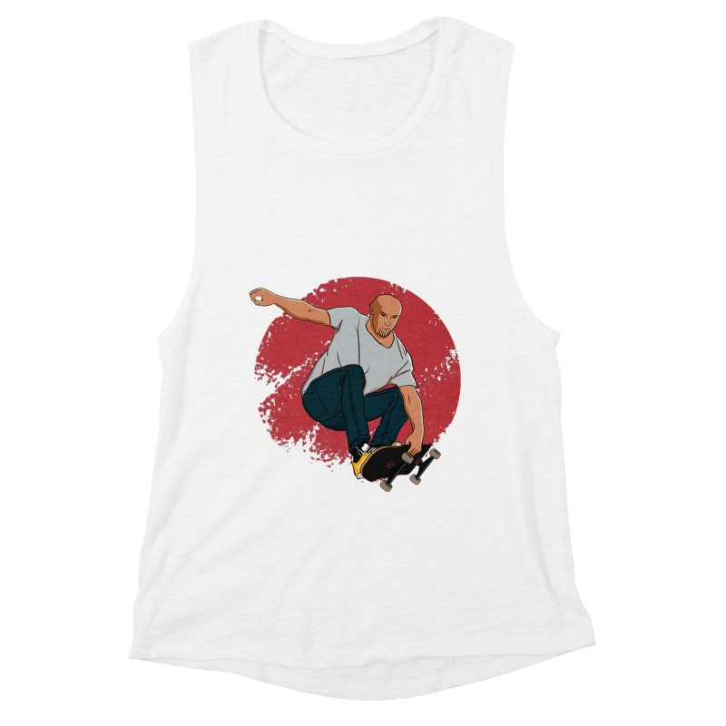 Thanos enjoy his Summer Women's Muscle Tank by RLLBCK Clothing Co.