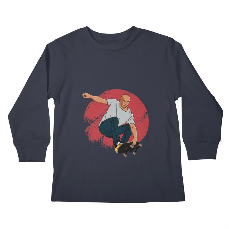 Thanos enjoy his Summer Kids Longsleeve T-Shirt by RLLBCK Clothing Co.