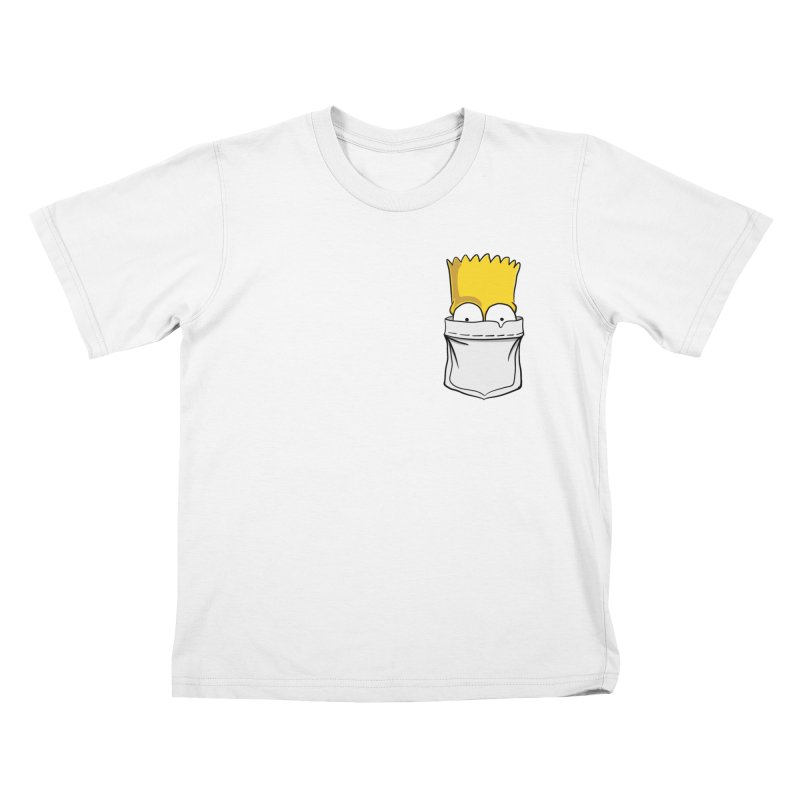 Bart Simpson in My Pocket Kids T-Shirt by RLLBCK Clothing Co.