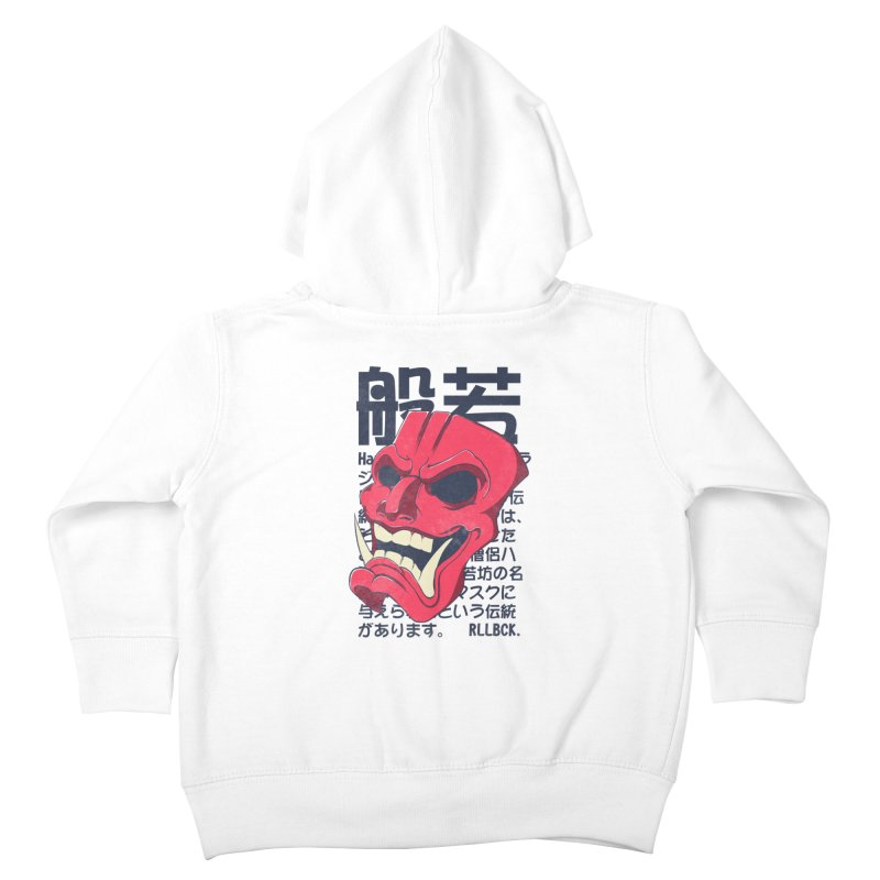 Hannya Mask Kids Toddler Zip-Up Hoody by RLLBCK Clothing Co.