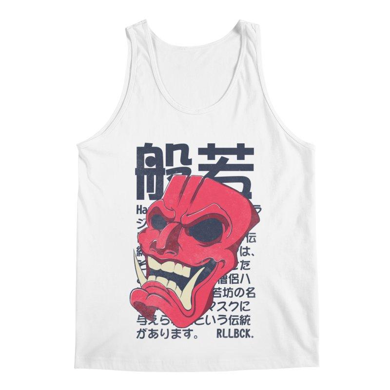 Hannya Mask Men's Regular Tank by RLLBCK Clothing Co.
