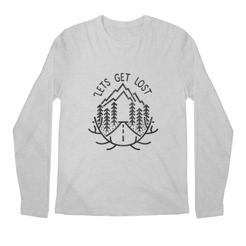 Lets get Lost Men's Regular Longsleeve T-Shirt by RLLBCK Clothing Co.
