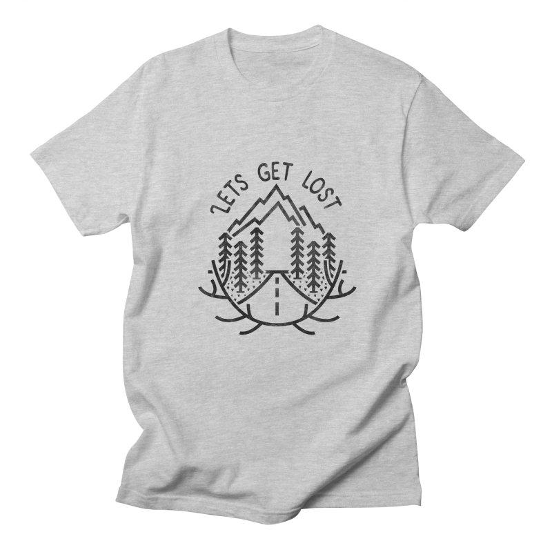Lets get Lost Men's Regular T-Shirt by RLLBCK Clothing Co.