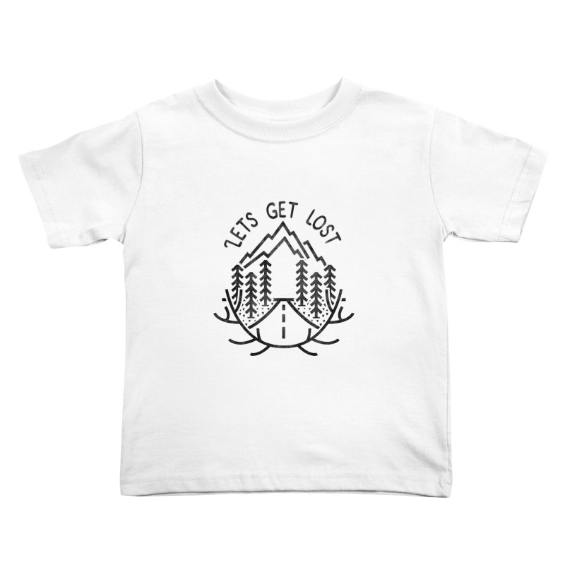 Lets get Lost Kids Toddler T-Shirt by RLLBCK Clothing Co.