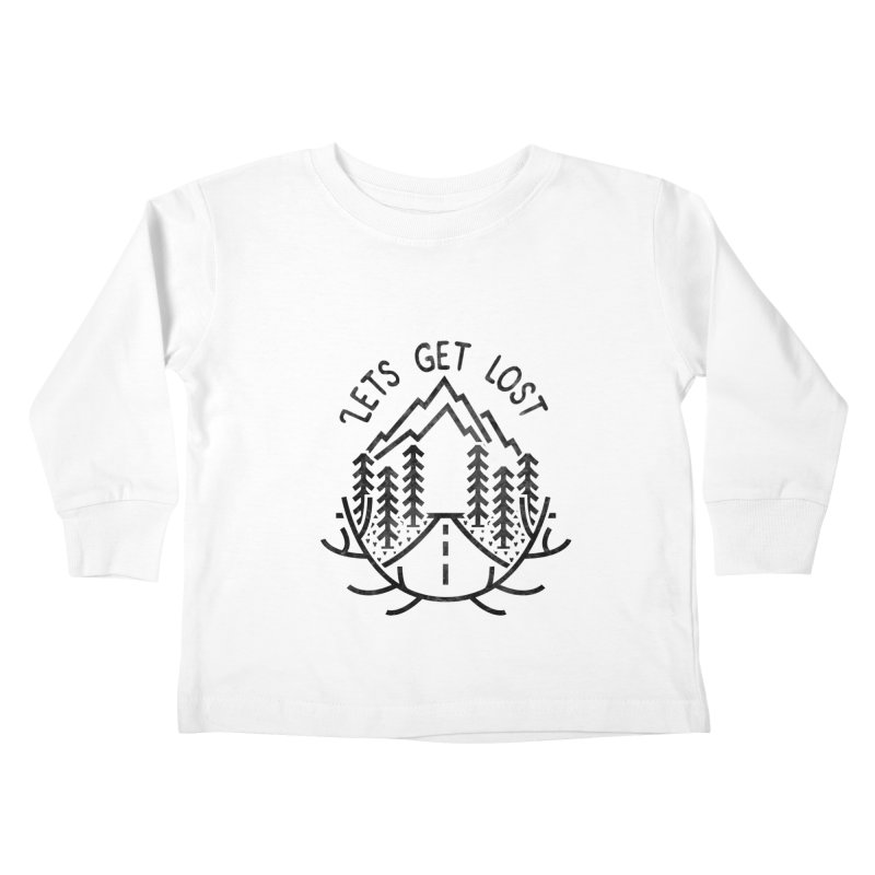 Lets get Lost Kids Toddler Longsleeve T-Shirt by RLLBCK Clothing Co.