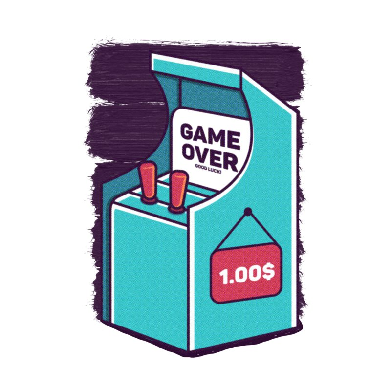 Game Machine by RLLBCK Clothing Co.