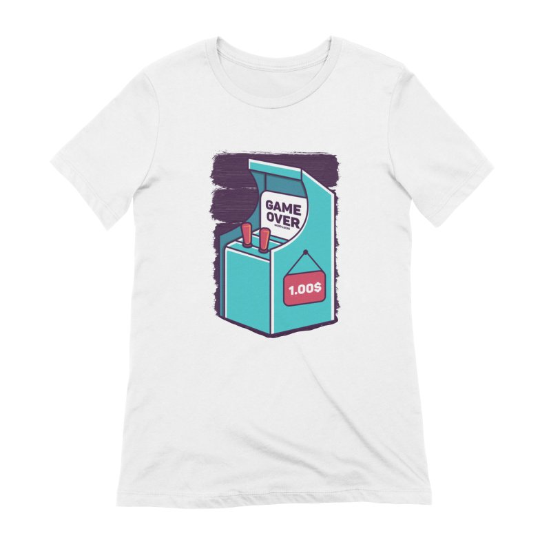 Game Machine Women's Extra Soft T-Shirt by RLLBCK Clothing Co.