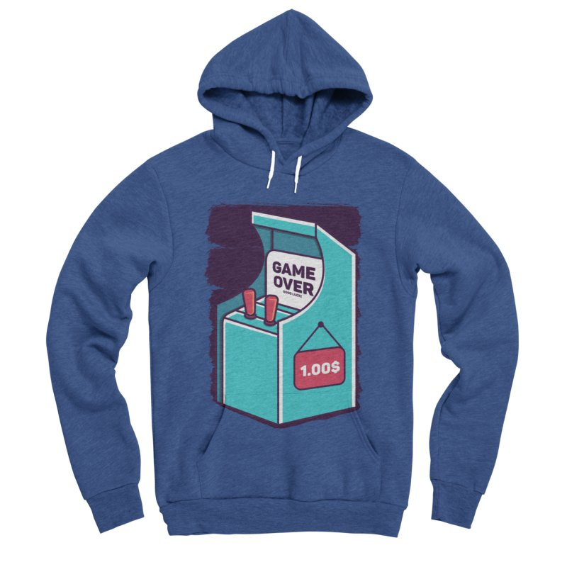 Game Machine Men's Sponge Fleece Pullover Hoody by RLLBCK Clothing Co.