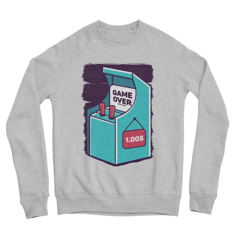 Game Machine Men's Sponge Fleece Sweatshirt by RLLBCK Clothing Co.