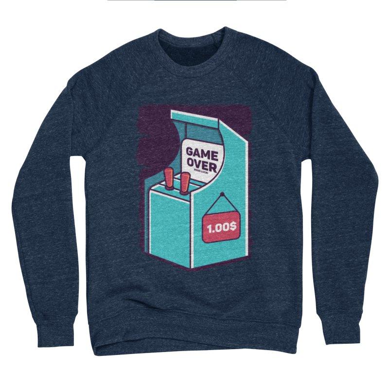 Game Machine Women's Sponge Fleece Sweatshirt by RLLBCK Clothing Co.