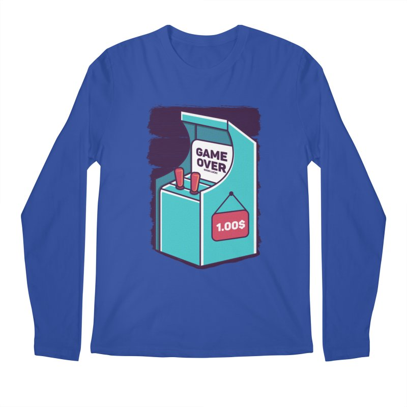 Game Machine Men's Regular Longsleeve T-Shirt by RLLBCK Clothing Co.