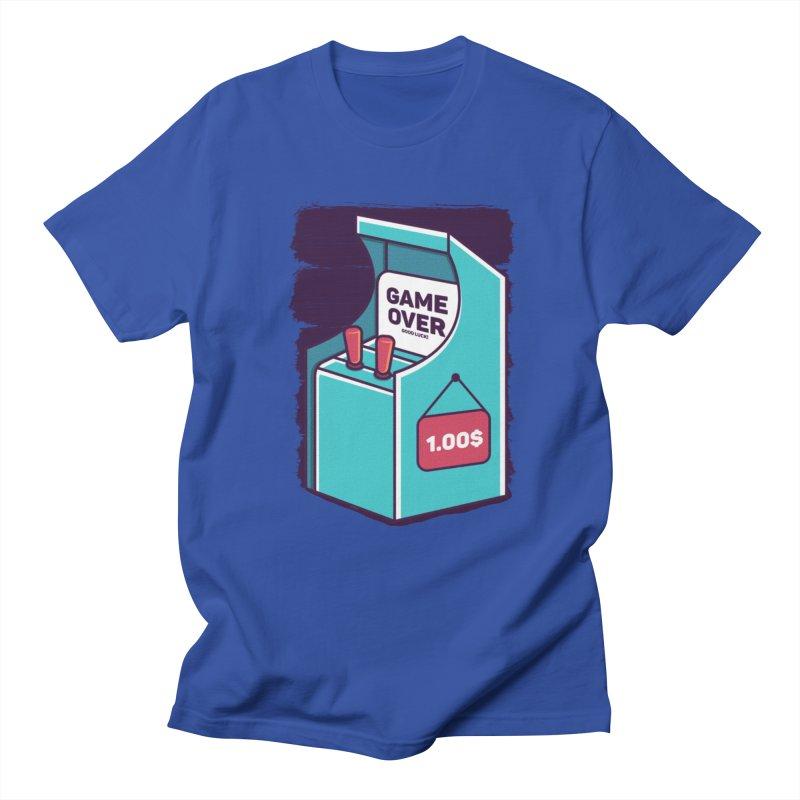 Game Machine Men's Regular T-Shirt by RLLBCK Clothing Co.