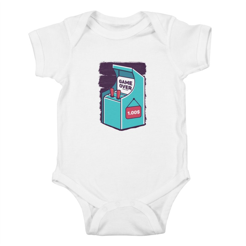 Game Machine Kids Baby Bodysuit by RLLBCK Clothing Co.
