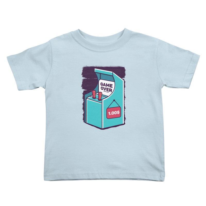 Game Machine Kids Toddler T-Shirt by RLLBCK Clothing Co.