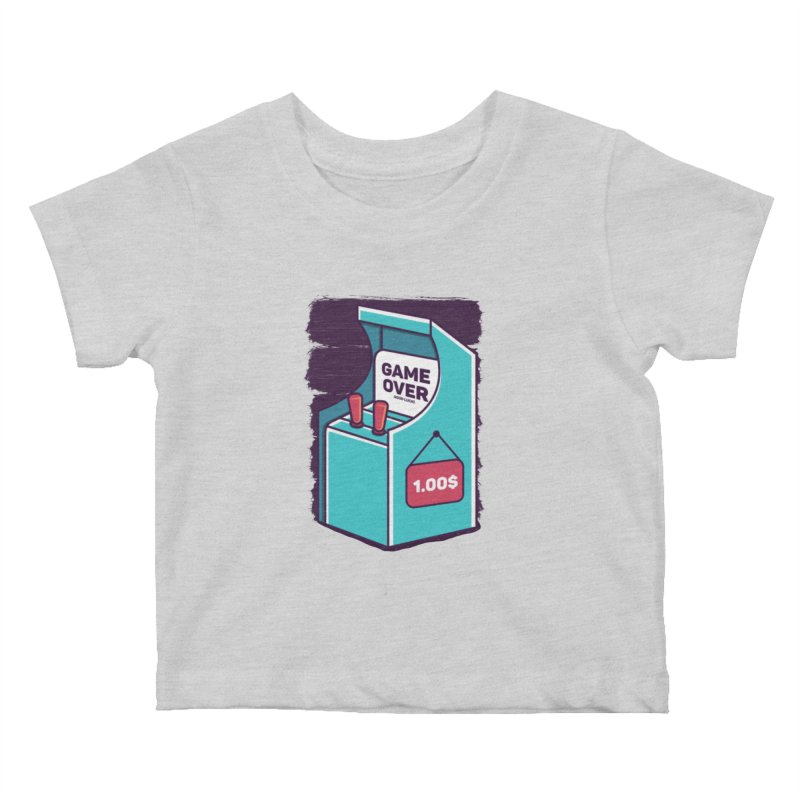 Game Machine Kids Baby T-Shirt by RLLBCK Clothing Co.