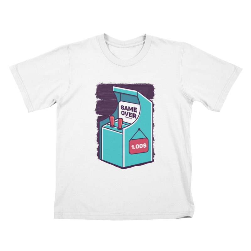 Game Machine Kids T-Shirt by RLLBCK Clothing Co.