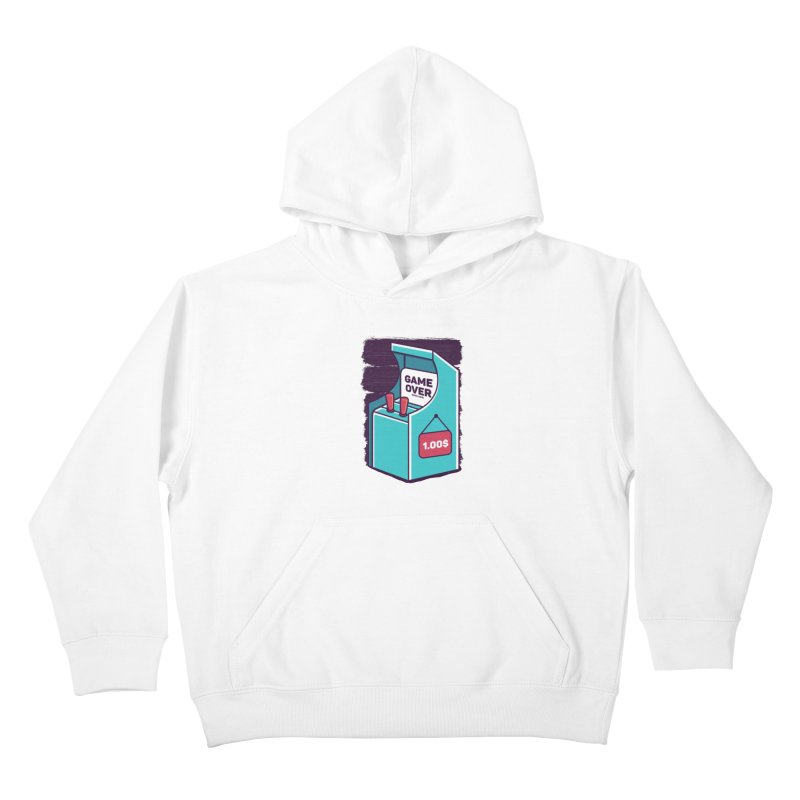 Game Machine Kids Pullover Hoody by RLLBCK Clothing Co.