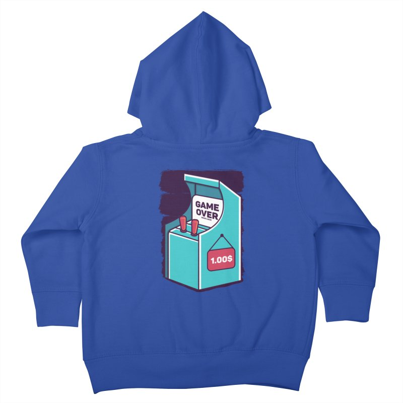Game Machine Kids Toddler Zip-Up Hoody by RLLBCK Clothing Co.
