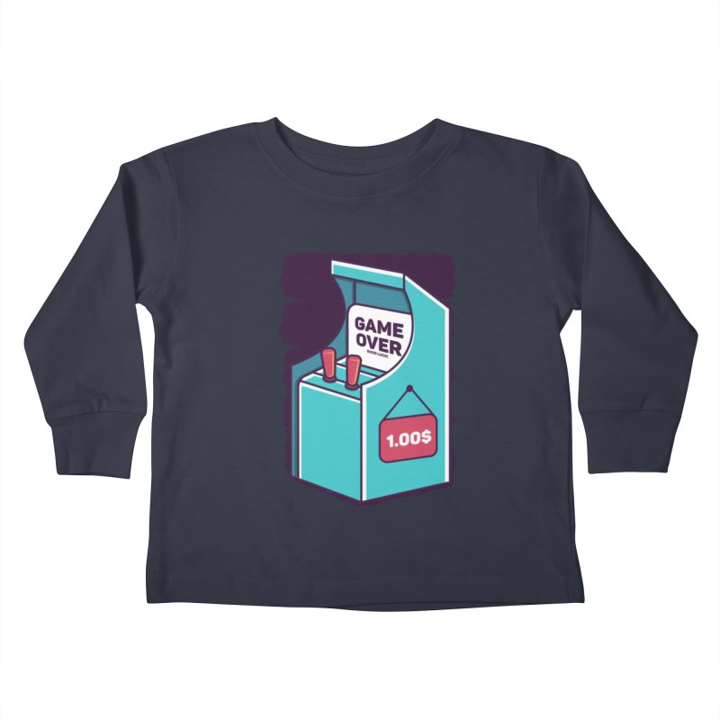 Game Machine Kids Toddler Longsleeve T-Shirt by RLLBCK Clothing Co.