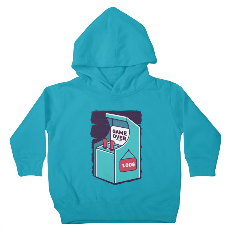 Game Machine Kids Toddler Pullover Hoody by RLLBCK Clothing Co.