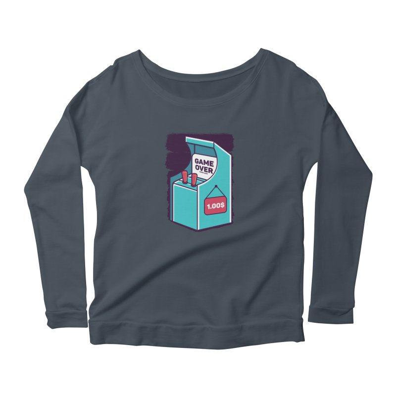 Game Machine Women's Longsleeve T-Shirt by RLLBCK Clothing Co.