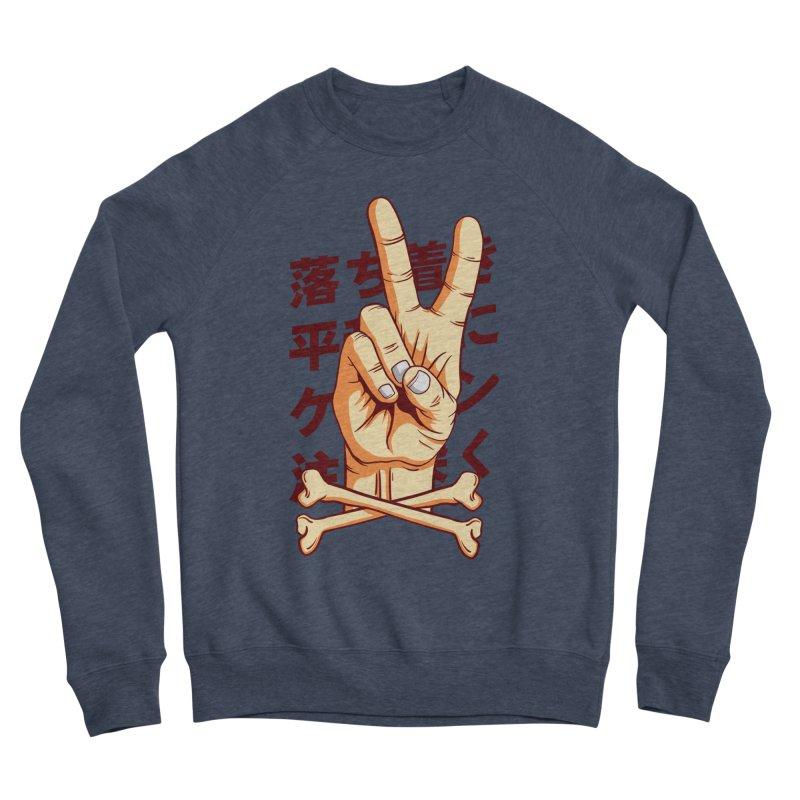 Peace Men's Sponge Fleece Sweatshirt by RLLBCK Clothing Co.