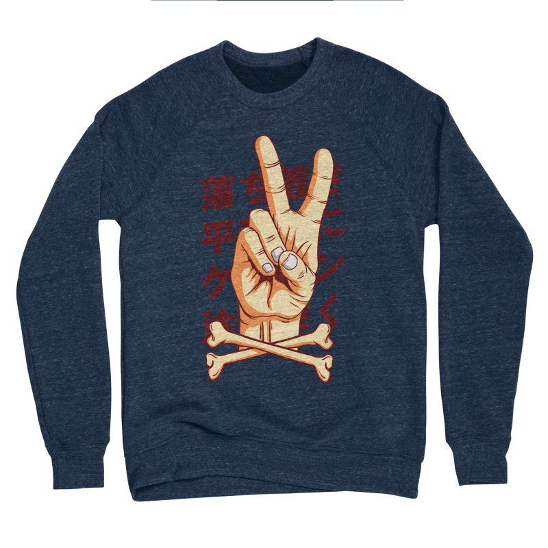 Peace Women's Sponge Fleece Sweatshirt by RLLBCK Clothing Co.