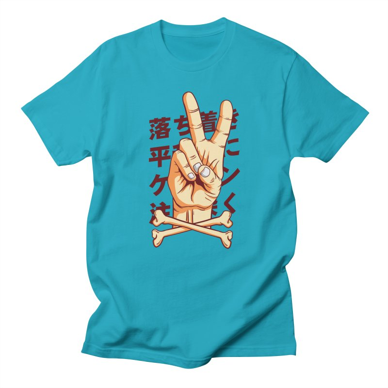 Peace Men's T-Shirt by RLLBCK Clothing Co.
