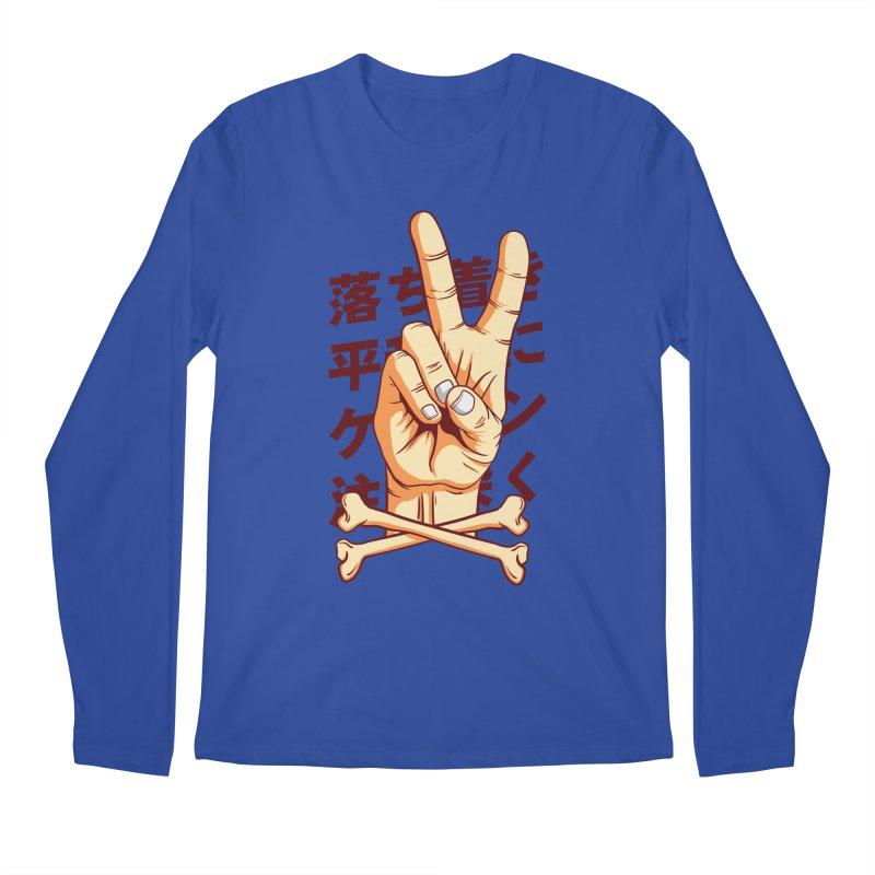 Peace Men's Regular Longsleeve T-Shirt by RLLBCK Clothing Co.