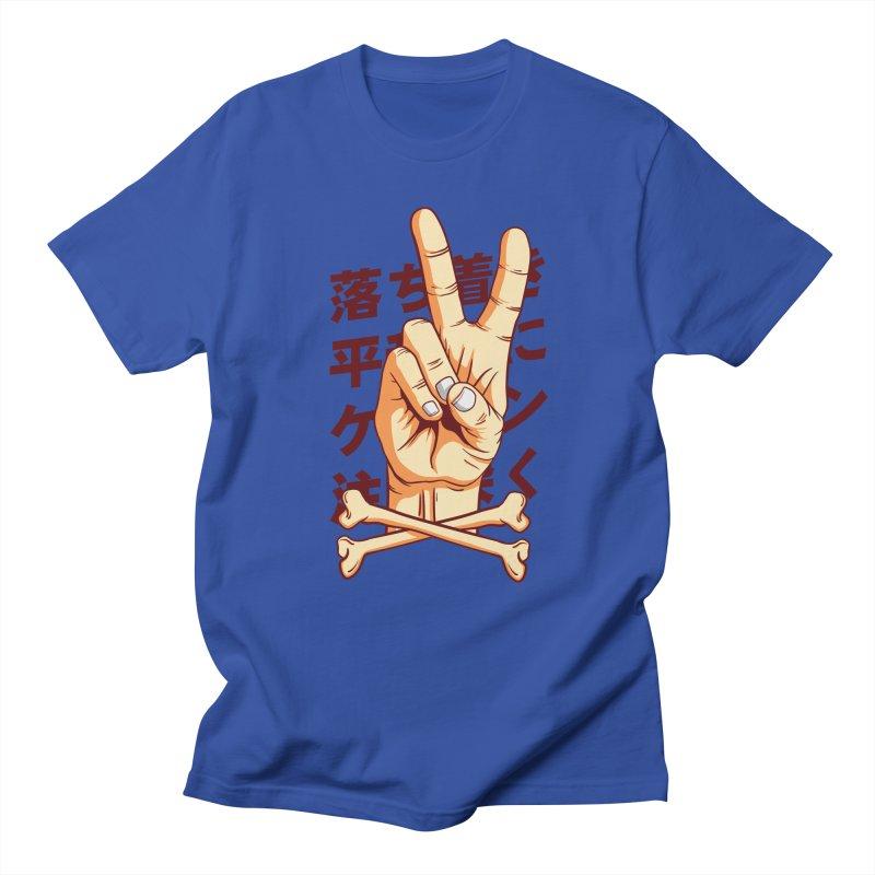 Peace Men's Regular T-Shirt by RLLBCK Clothing Co.