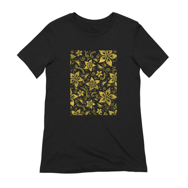 Batik Women's Extra Soft T-Shirt by RLLBCK Clothing Co.
