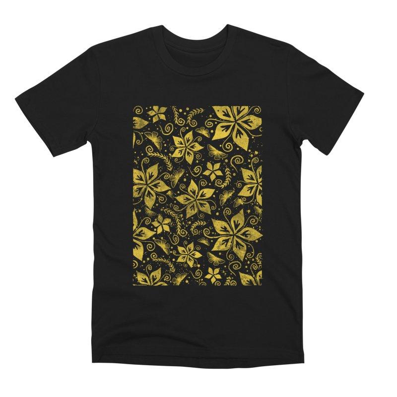 Batik Men's Premium T-Shirt by RLLBCK Clothing Co.