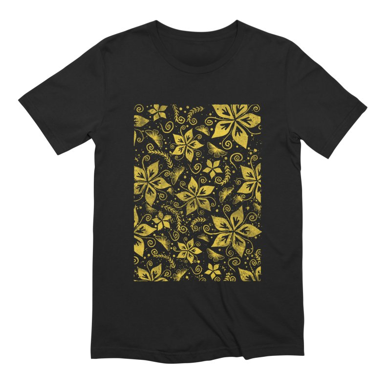 Batik Men's Extra Soft T-Shirt by RLLBCK Clothing Co.